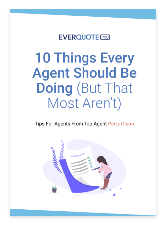 10 Things Every Agent Should Be Doing (But That Most Aren't) According to Top Agent Perry Olson