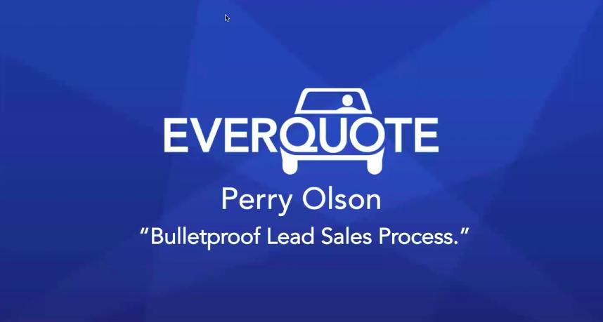 Perry Olson's Bulletproof Leads Sales Process