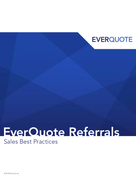 EverQuote Referrals – Sales Best Practices