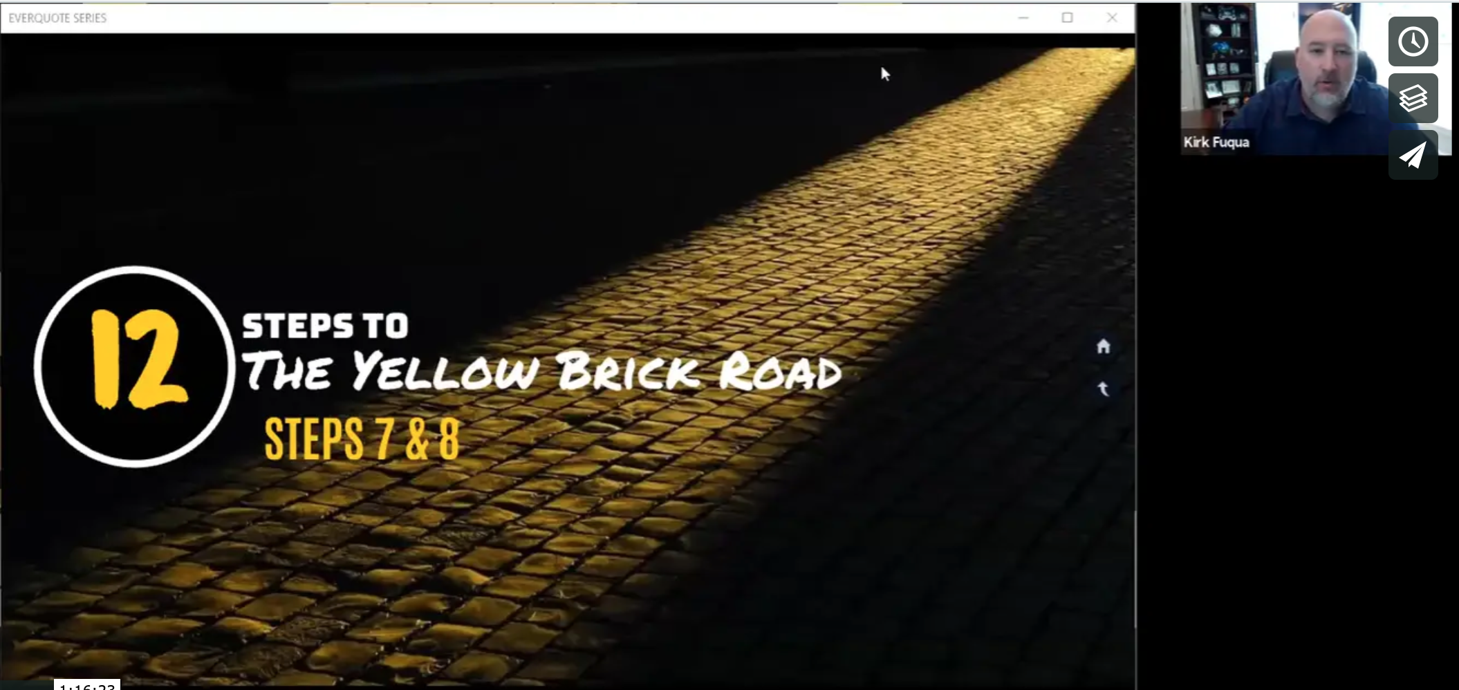 Insurance Sales Process: Part 4 (Yellow Brick Road Parts 7 & 8) with Kirk Fuqua