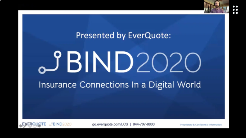 BIND 2020 - Opening with EverQuote's Agency GM Nick Graham