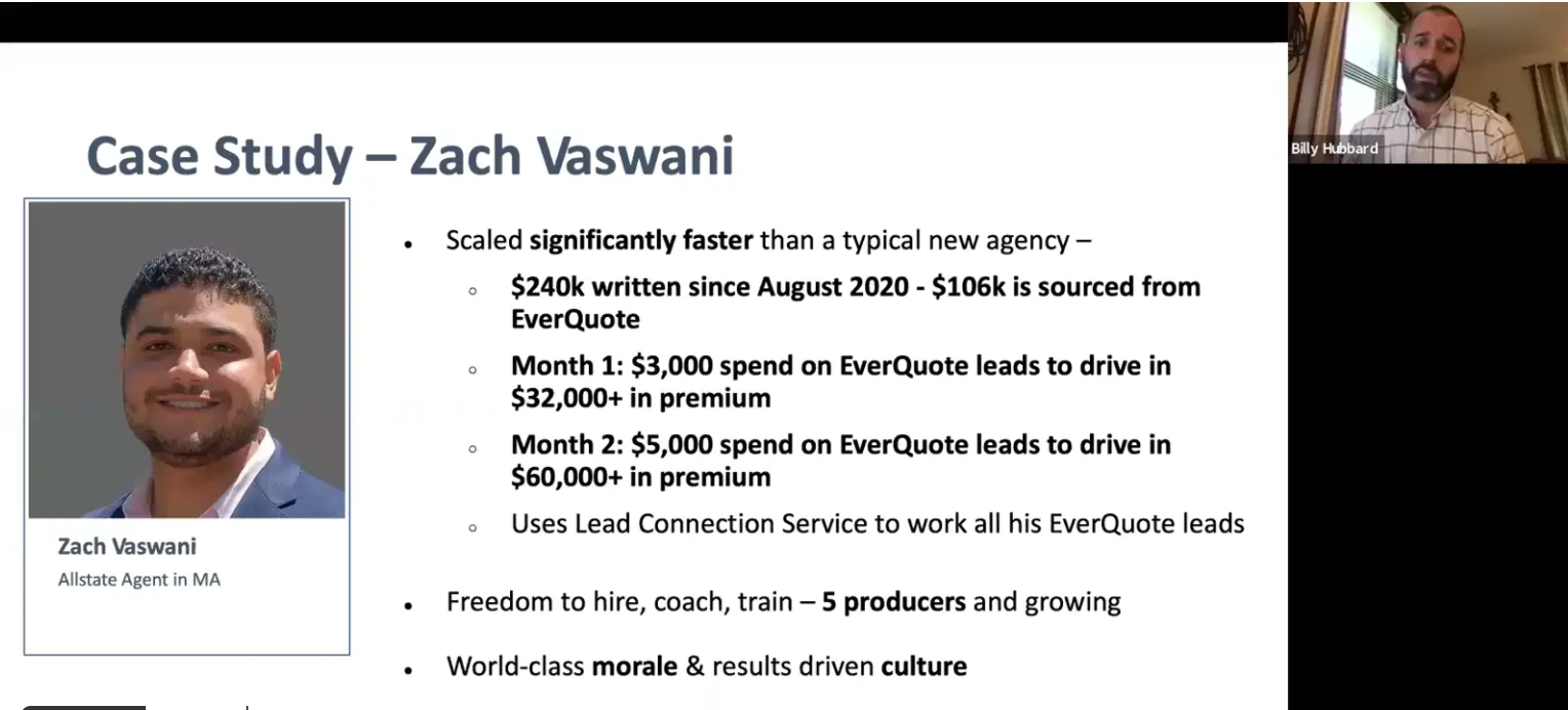 Learn How This Captive Agent Wrote $92K in His First Two Months From One New Product – An Interview with Agency Owner Zach Vaswani