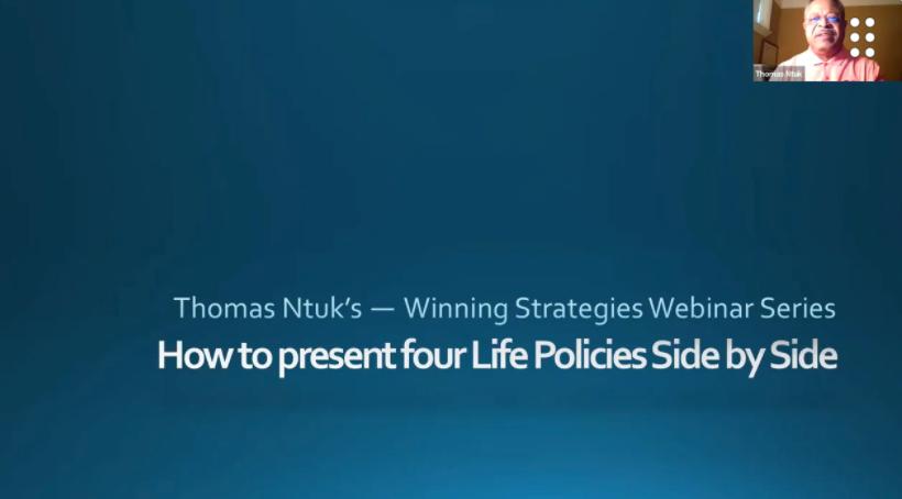 Life Insurance Sales: Do You Need Illustrations to Sell Life Insurance? No! with Thomas Ntuk