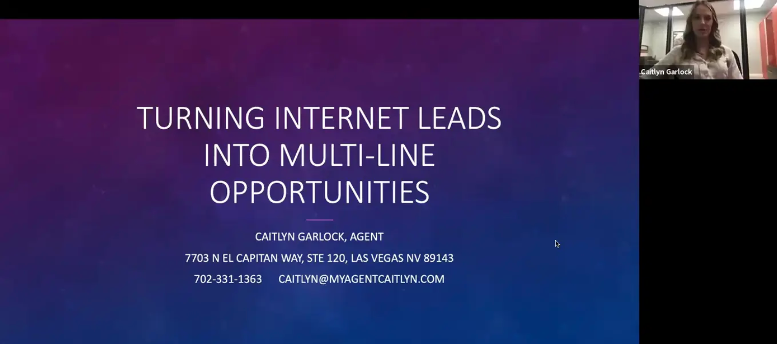 Turning Internet Leads Into Multi-Line Opportunities w/ Caitlyn Garlock