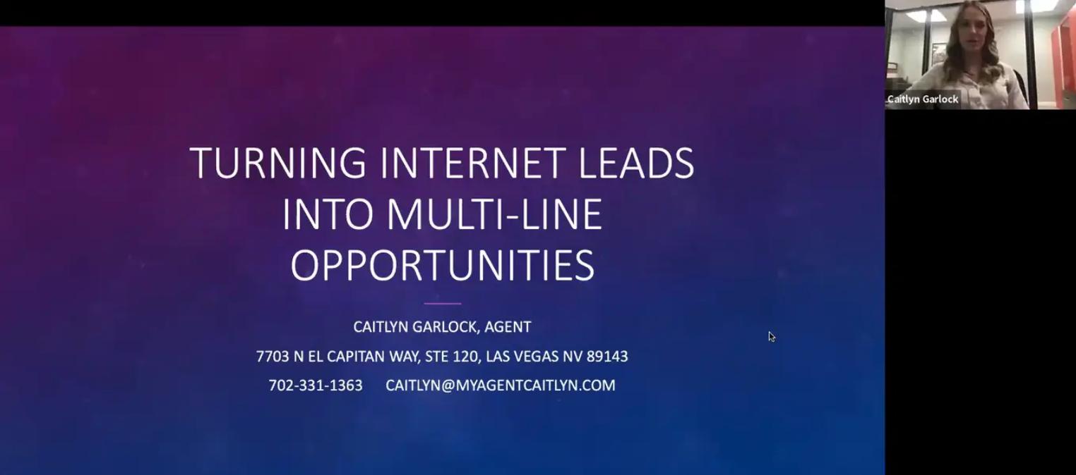 Turning Internet Leads Into Multi-Line Opportunities w/ Caitlyn Garlock
