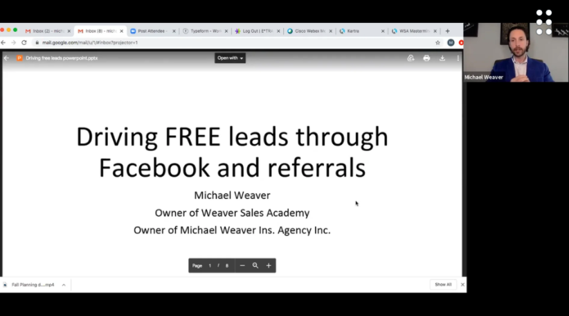 Using Social Media to Drive Leads & Referrals for Insurance Agents with Michael Weaver