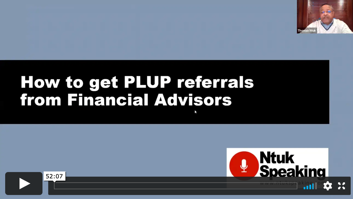 Use Umbrella Policies to Open Up a Floodgate of Referrals From Financial Advisors with Thomas Ntuk
