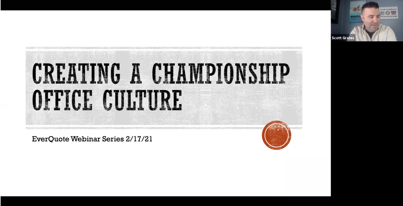 Building a Championship Office Culture with Scott Grates
