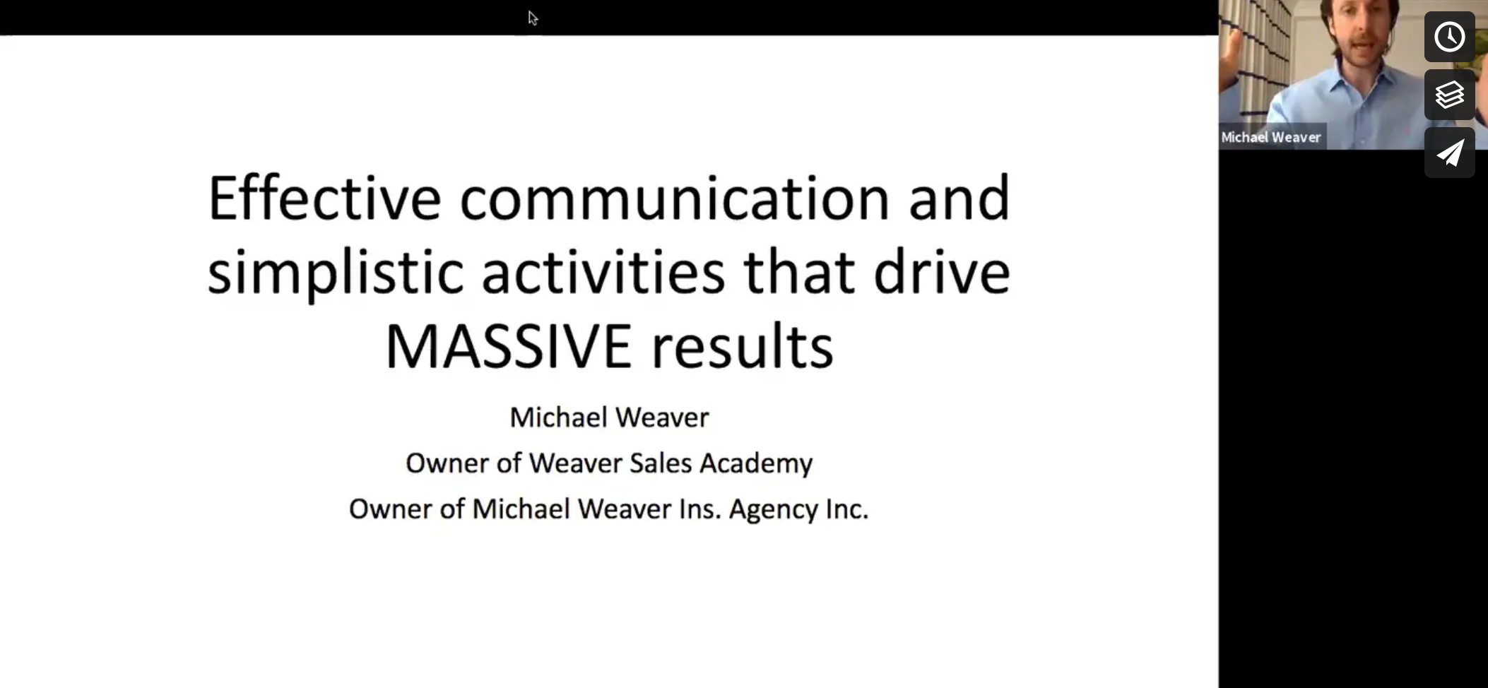 How Effective Communication and 3 Simple Activities Can Drive MASSIVE Results with Michael Weaver