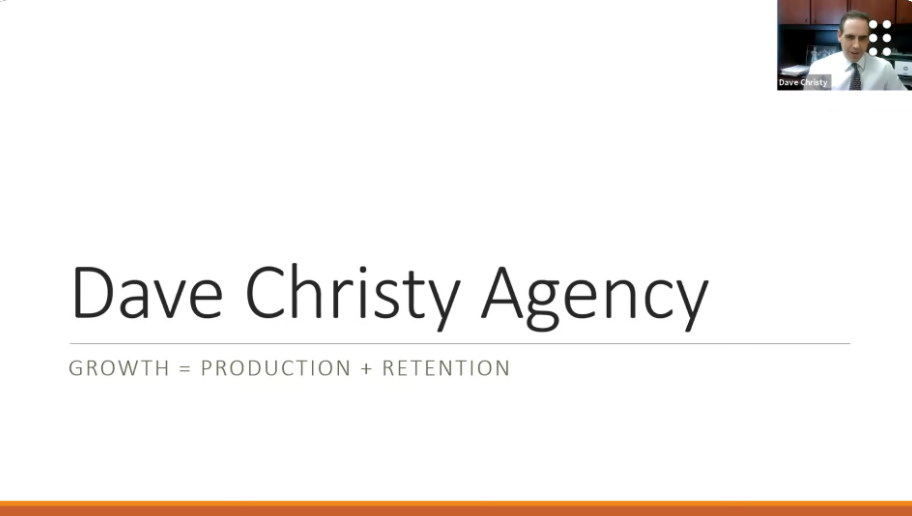 The Secret of Consistent Agency Growth: Retention with Dave Christy