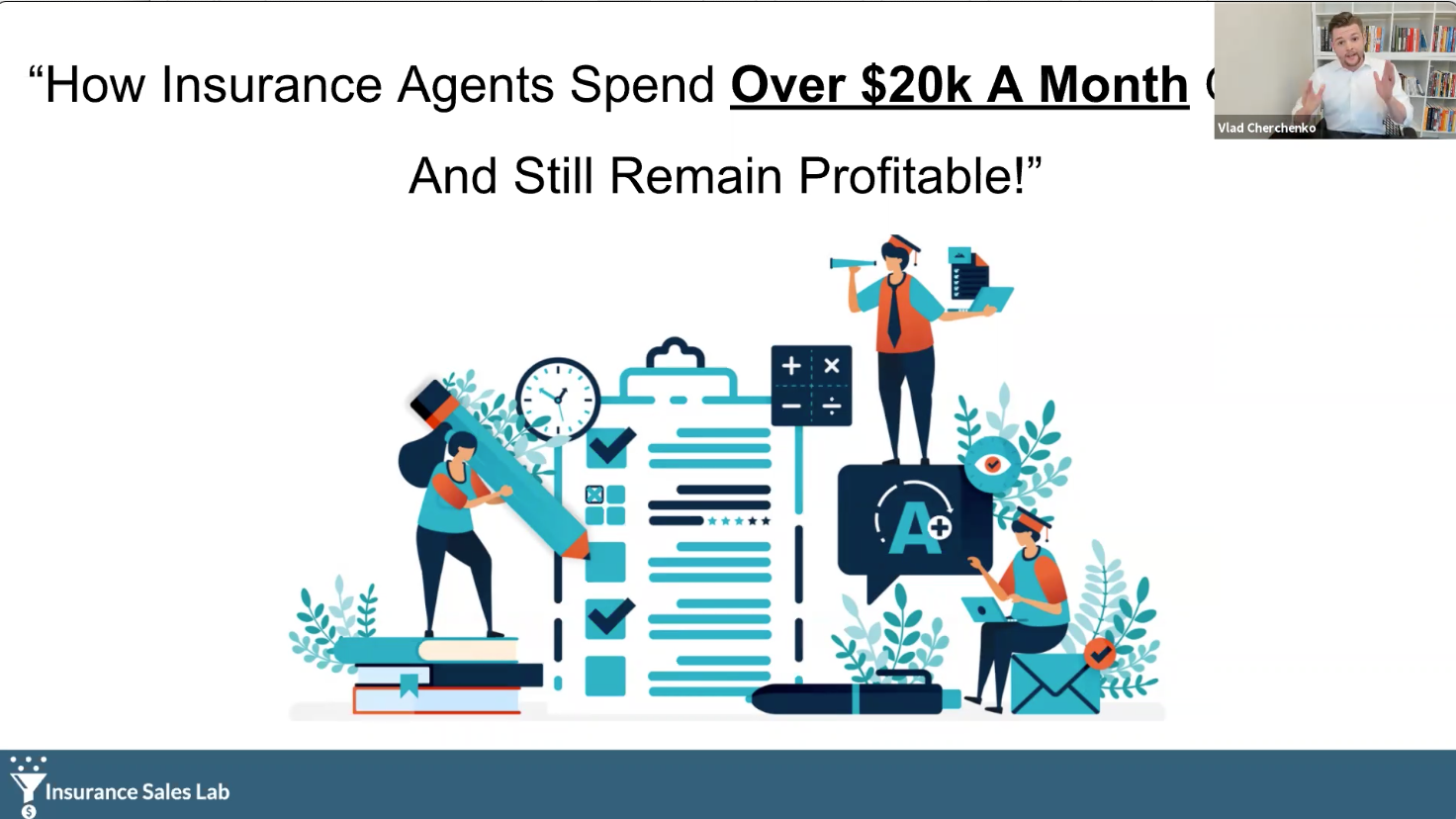 How Agents Spend Over $20k A Month On Leads, And Still Remain Profitable with Vlad Cherchenko