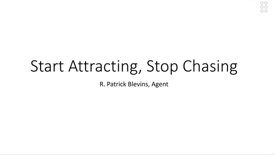 Stop Chasing Business and Start Attracting It with Patrick Blevins